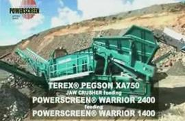 TEREX®NFLG Mobile Crushing Equipments